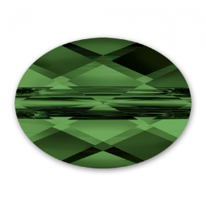 Mini Oval Swarovski 5051 10x8 mm Fern Green x1