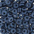 O Bead 4 mm Pastel Montana Blue x5g