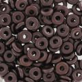 O Bead 4 mm Pastel Bronze x5g