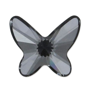 Mariposa Swarovski 2854  8 mm Crystal Silver Night x1