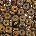 O Bead 4 mm Bronze Mix x5g