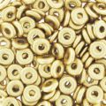O Bead 4 mm Gold Mat x5g