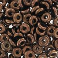 O Bead 4 mm Dark Bronze x5g