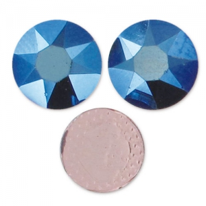 Strass Hotfix Swarovski 4 mm Crystal Metallic Blue x36
