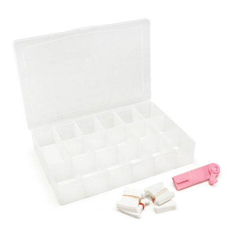 Caja para ordenar y accesorios para los hilos de costura - Cajas para ordenar ...
