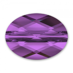 Mini Oval Swarovski 5051 10x8 mm Amethyst x1