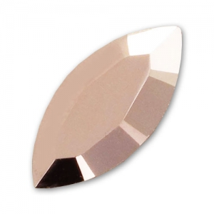 Navette Swarovski 10x5 mm Crystal Rose Gold