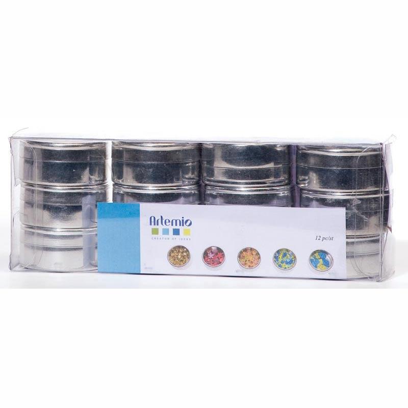 Caja de almacenaje del metal x12 artemio - Caja de almacenaje ...