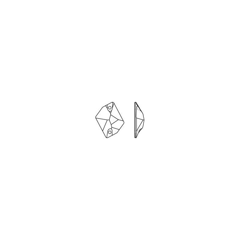 Cabuch�n 3265 agujereado Cosmic 20x16 mm Crystal Copper - SWAROVSK ...