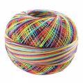 Hilo algodón Lizbeth talla 20 Rainbow Splash n°184 x192m