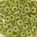 O Bead 4 mm Pastel Lime x5g
