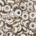 O Bead 4 mm Pastel Light Brown x5g