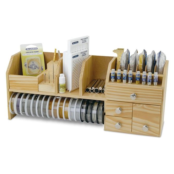 Organizador Para Mesa Table Top Work Bench Beadalon