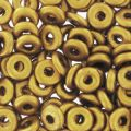 O Bead 4 mm Golden Mat x5g