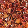 Dragon Scale Bead 1.5x5 mm Crystal Sunset x5g