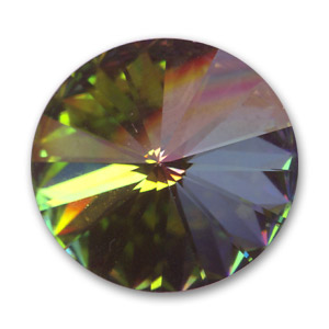 Cabuchón Swarovski 1122 Rivoli 14 mm Crystal Vitrail Medium