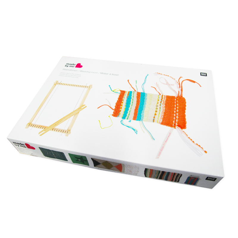 Kit pequeño Telar para tejer la lana 29x19 cm x1 - Perles & Co