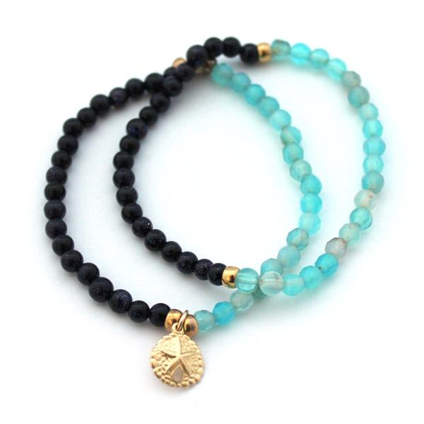 f4aff0e76142 Cómo hacer una pulsera con hilo elástico - Perles   Co