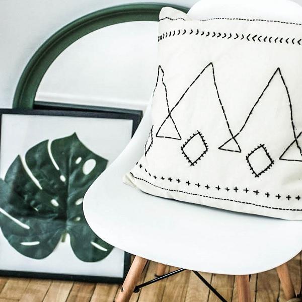 DIY Cojín estilo bereber - Perles & Co