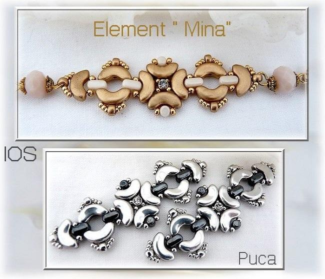 Mina pulsera con perlas IOS®par Puca® - Perles & Co