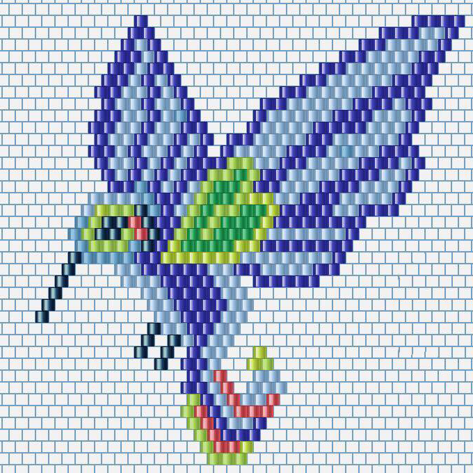 Grille_Tissage_brickstitch_Colibri