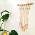 DIY decoración de pared - Weaving fácil macramé