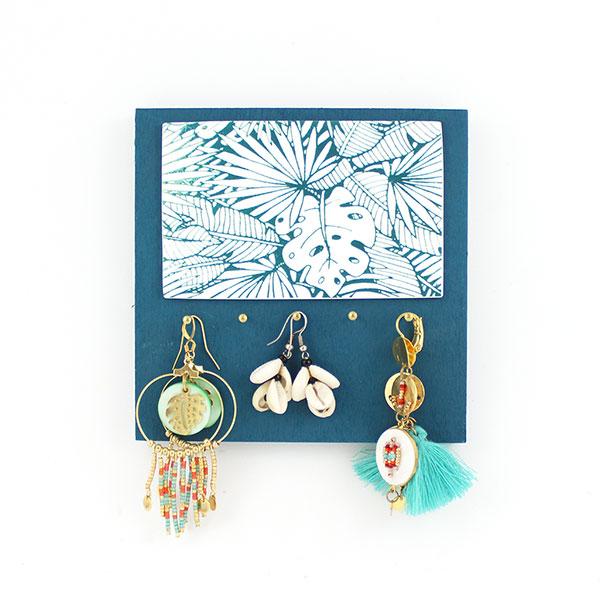 eea7d6c37155 Porta joyas Fimo con serigrafía - Perles & Co