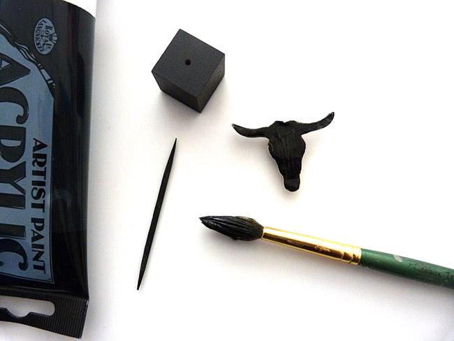 DIY decoración - búfalo anillos de puerta principal - Perles & Co