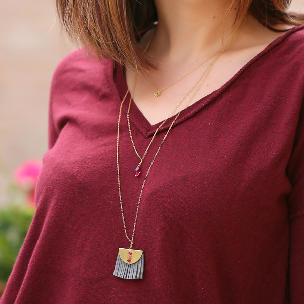 ba68c3ec0059 Collar de filas triples y cordón barroco de Swarovski - Perles & Co