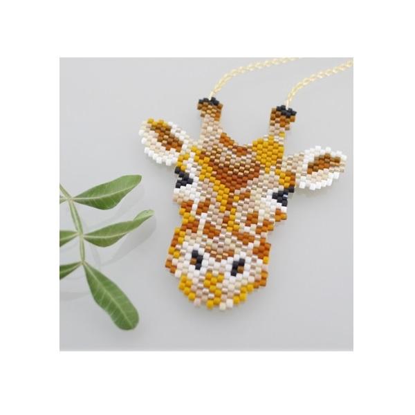 Edith jirafa collar de perlas Miyuki por Mi pequeño bazar - Perles & Co