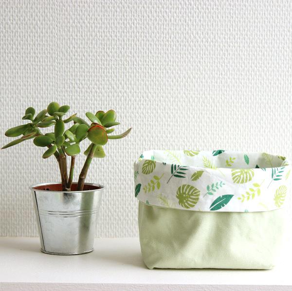 DIY fácil confección - coser una bolsa de vacío con la tela tropic ...