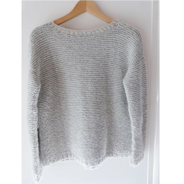 tejer DIY - suéter liga puntada - Perles   Co 0bc14e38223a