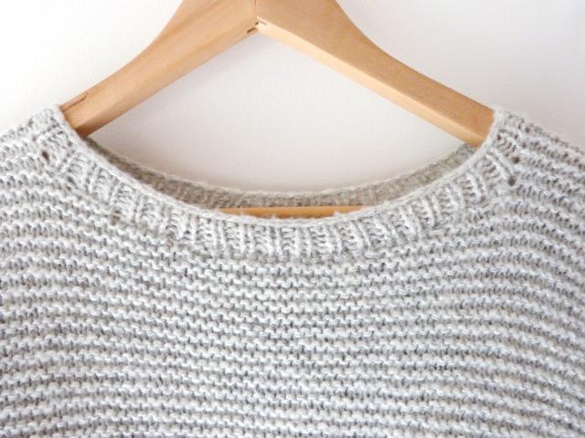 tejer DIY - suéter liga puntada - Perles & Co