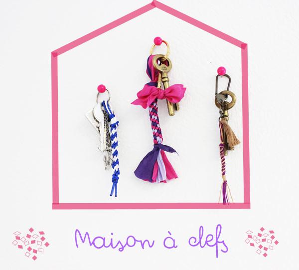 Porta llave en cint de ceda con kumihimo perles co for Llave de paso en ingles