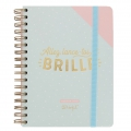 Agenda 2018 Mr. Wonderful 16x22 cm Allez lance-toi et brille