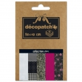 Papel Decopatch Pocket 30x40 cm - colección n°04 x5