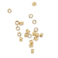 Tubos Chafas 1.2x1.6 mm de Gold filled 14K x50