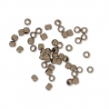 Chafas 1.5 mm bronce x100