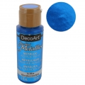 Pintura Acrilíca decorativa DecoArt Dazzling Metallics - Ice Blue x59 ml