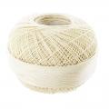 Hilo de algodón Lizbeth talla 80 Color crudo n°603 x168m