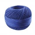Hilo de algodón Lizbeth talla 80 Royal Blue n°652 x168m