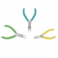 Kit de 3 Pinzas para Joyas de alta calidad para joyería - Pinza plana, Pinza redonda, Pinza cortante