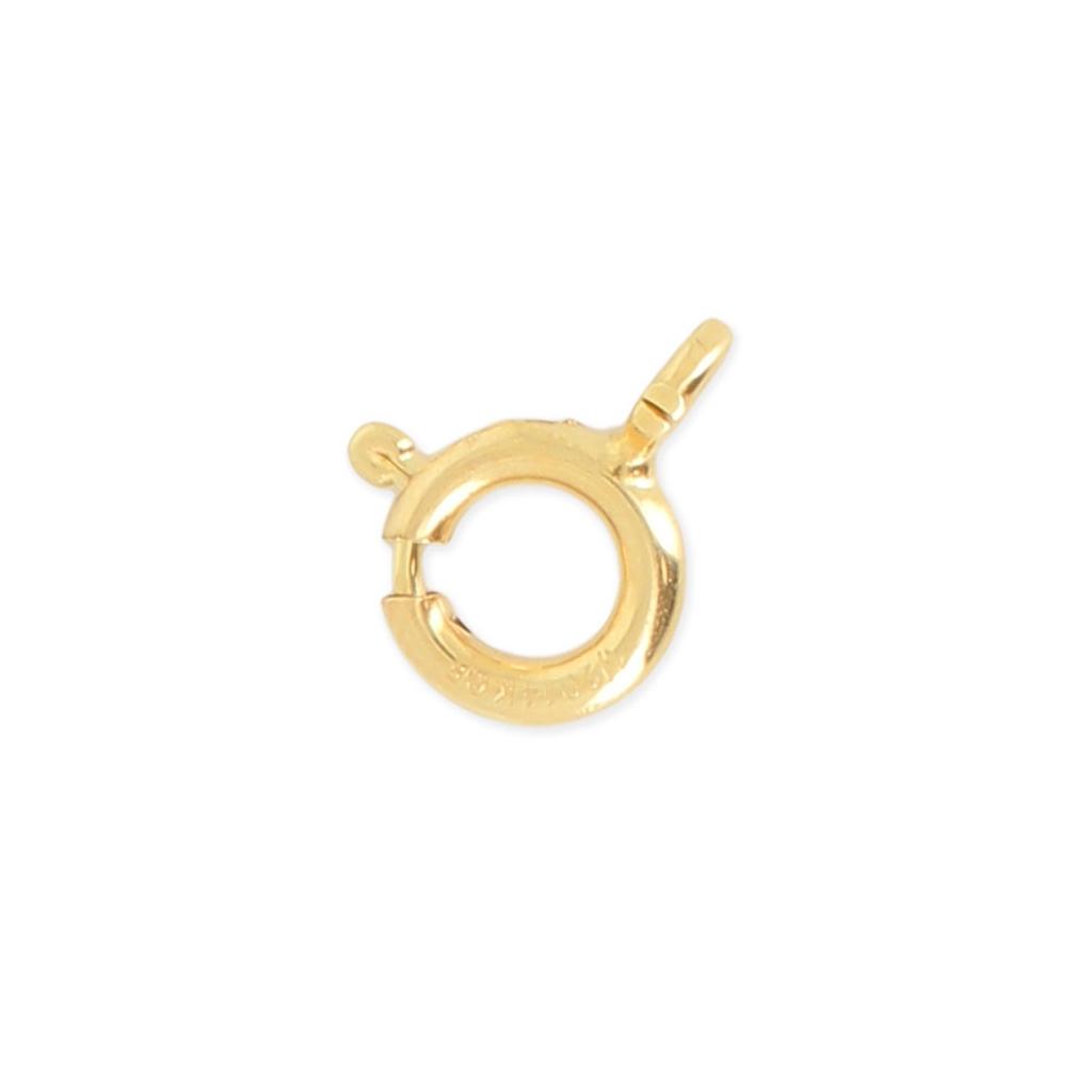490f5c5009fc Cierre de reasa para hacer tus propias piezas de Joyería y bisutería 7 mm  Gold filled 14K x1