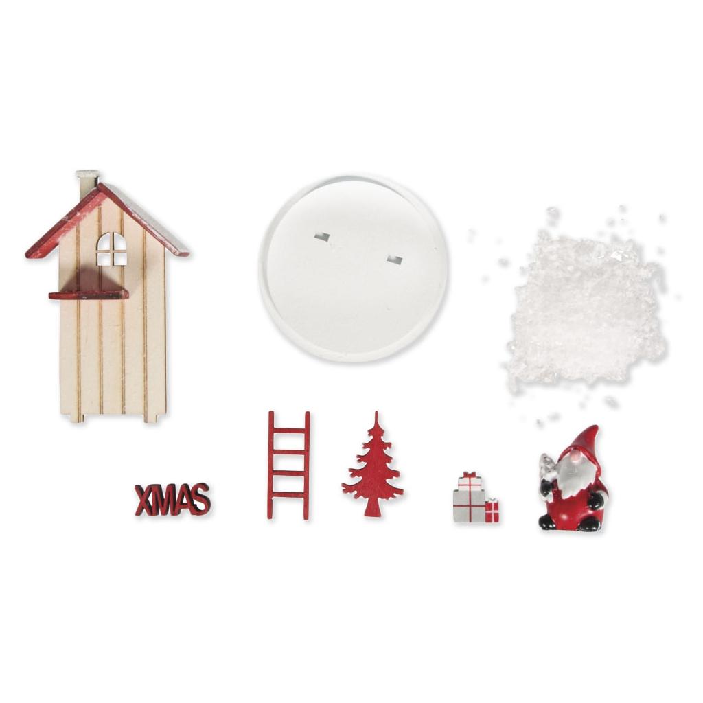 Decoraciones miniaturas adornos de madera para navidad 6x9 for Adornos de madera para pared
