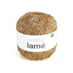 d5cbe8e616a Lana Creativa Lamé - Rico Design - Dorado x25g - Perles   Co