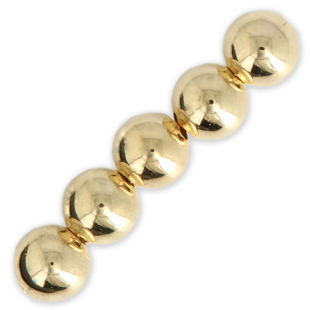 a26620977aee Bolas de latón 2.5 mm dorado para hacer tus propias piezas de Joyería y  bisutería fantaisía x100
