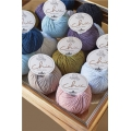 DMC Lana Woolly Chic - Color Oliva/dorado (n°085) x 125m