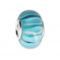 Perles /& Co Colgante Hecho a Mano de Vidrio de Murano 18 mm Murine de Venise x1