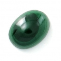 Cabuchón ovalado 8x6 mm Malachite