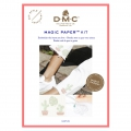 Kit DMC - Bordado punto de cruz - Magic Paper - Cactus